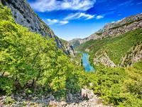 Fluss Cetina - Kajak & Rafting bei Omis