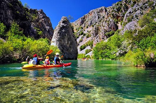 Kanu Kroatien - Kajaktour Zrmanja