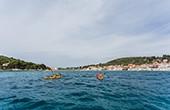 Insel Prvic - Seekajak