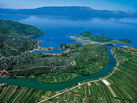 Fluss Neretva - Neretva Delta