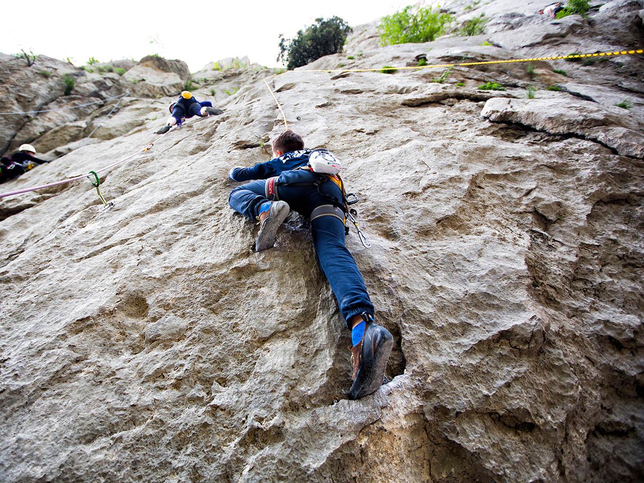 1a44799626dfba Kletterspaß für Groß und Klein in Kroatien (Foto  Ivo Biocina)