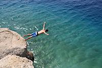 Klippensprung in Kroatien