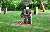 Paintball Spiel Green Garden Pula