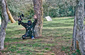 Paintball Spiel Green Garden