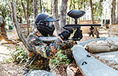 Paintball Spieler Lanterna