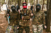Paintball Spieler Lanterna, Tar