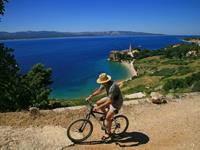Radfahren in Dalmatien, Kroatien