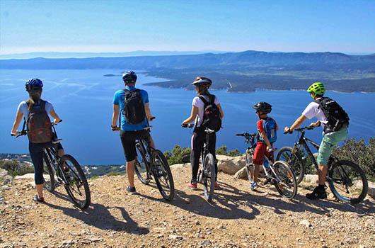 Fahrradverleih Dalmatien