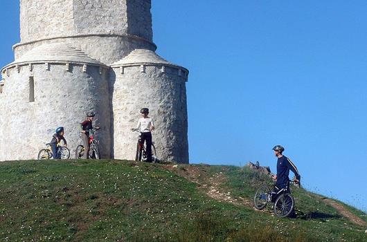 Radfahren Nin, Privlaka, Zaton - Dalmatien, Kroatien
