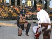 Radroute der römischen Gladiatoren