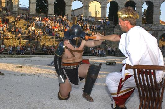 Radtour Pula - Medulin - Route der römischen Gladiatoren