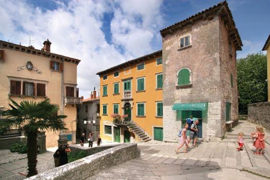 Radroute Bella Vista - Rabac-Labin, Istrien, Kroatien