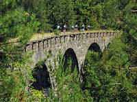 Radroute Eisenbahnstrecke Parenzana