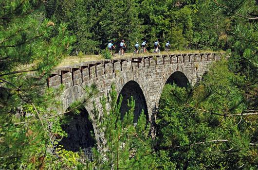 Radroute Umag - Eisenbahnstrecke Parenzana