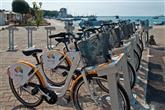 Park and Ride Umag - Fahrräder mit Fahrradkorb