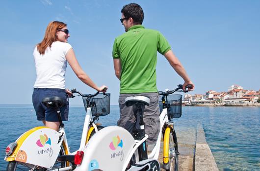 Park & Ride in Umag