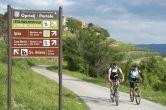 Radfahren Umag-Novigrad - Radtour bei Oprtalj
