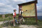 Radfahren Umag-Novigrad - Info Tafel