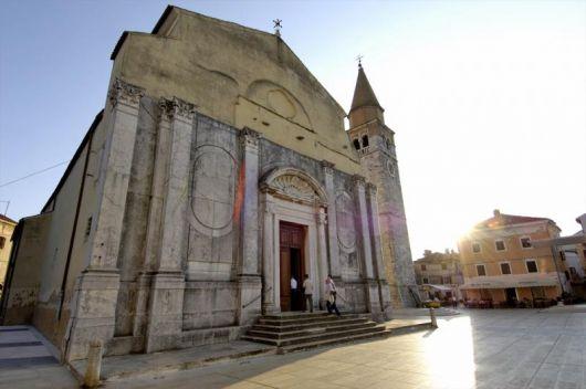 Sehenswürdigkeit auf der Tour - Kirche Sv. Peregrina Umag