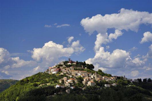 Radrouten Umag-Novigrad  - Radroute via Montanara - Motovun
