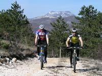 Radtour istrische Gipfel