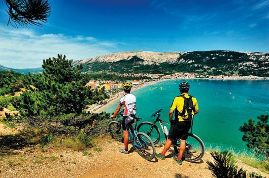 Kvarner Bucht - Radtour Insel Krk, Baska
