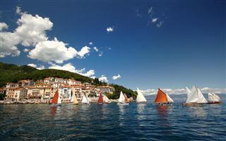 Panorama von Moscenicka Draga