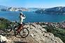 Ausblick Baska, Rent a bike zen adventures