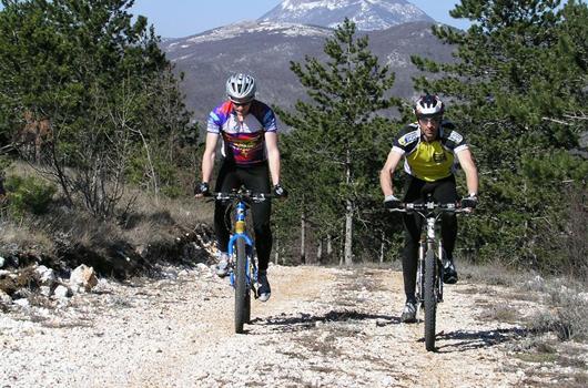Naturpark Ucka - Mountainbiketour