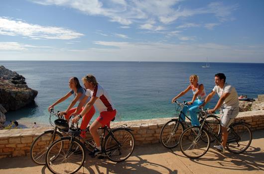 Radfahren Kroatien - Radtour in Istrien