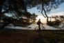 Radfahren Kroatien - Sonnenuntergang Rovinj