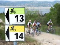 Radfahren Kroatien - Markierte Radwege