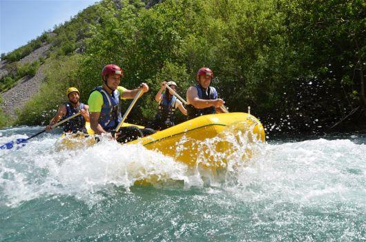 Rafting mit Raftrek