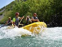 Rafting in Kroatien