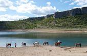 Reitergruppe, Fluss
