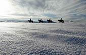 Winterlandschaft, Ausritt