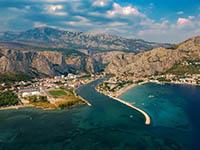 Omis, Dalmatien