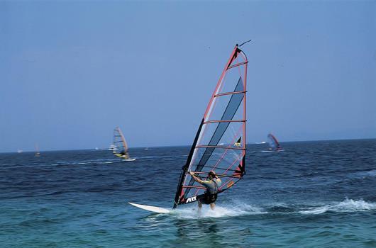 Surfen Kroatien - Peljesac