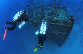 Schiffswrack Istrien