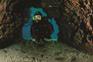 Taucher in Höhle, Rab, Kvarner Bucht