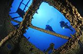 Tauchgang Schiffswrack, Kroatien