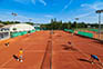 Tennis Doppel in Novigrad / Umag
