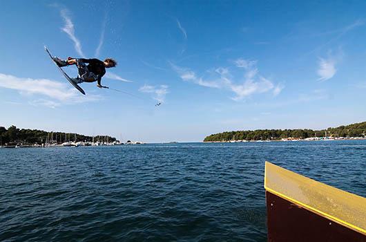 Wakeboarding in Kroatien, Skilift Porec
