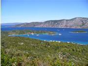 Wanderwege auf der Insel Korcula