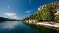 Wanderwege Krka Mündung Sibenik