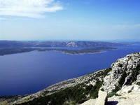 Wandern Insel Brac - Vidova Gora