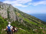 Wanderer Insel Brac