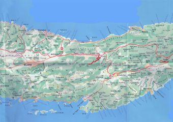 Insel Korcula - Wanderweg Korcula na dlanu