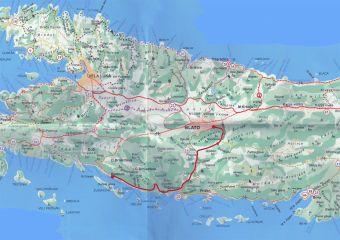 Insel Korcula - Wanderweg Lungomare