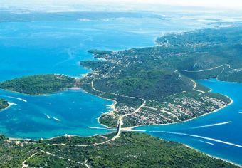 Insel Pasman - Insel Ugljan - Brücke